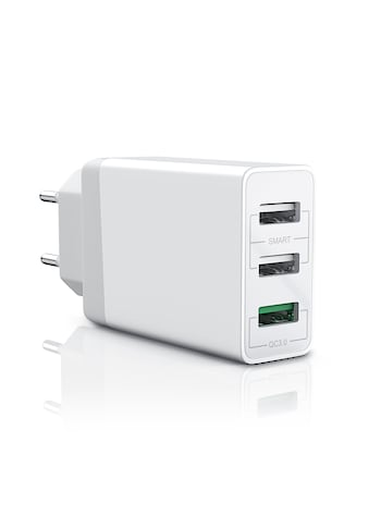 Aplic 3-Port USB Ladegerät mit Quick Charge 3.0 Technologie kaufen