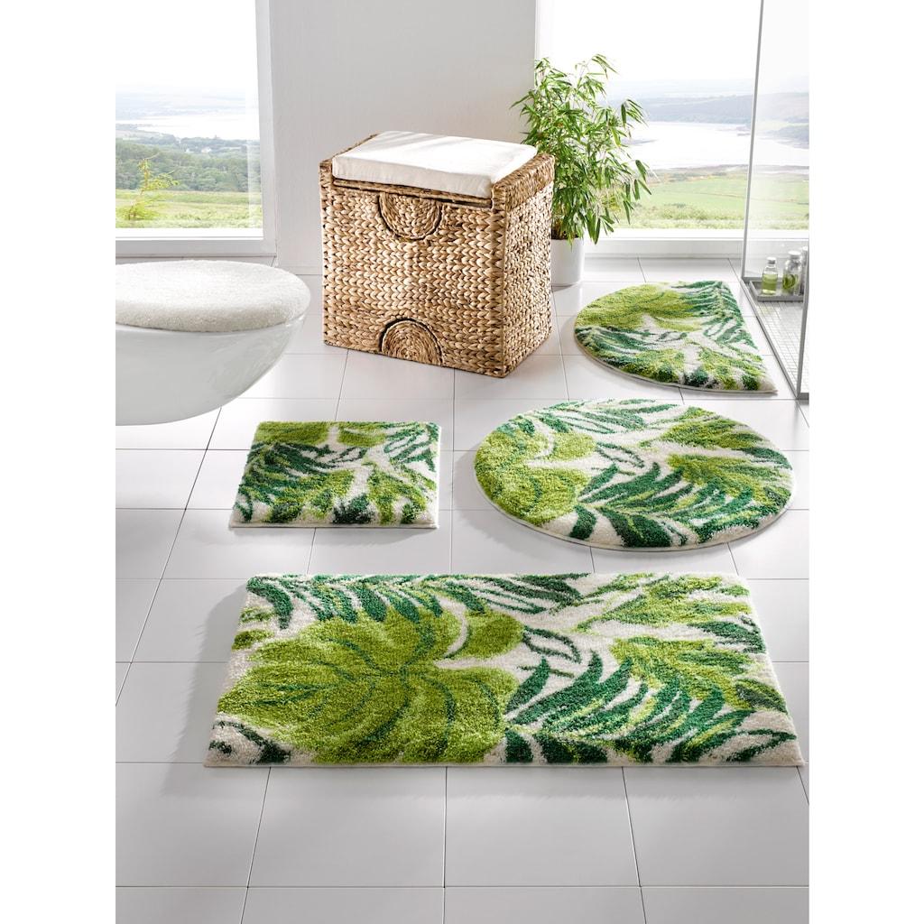 Badgarnitur Folla mit Blätter-Design