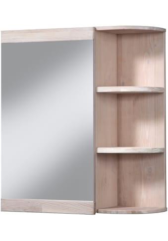 welltime Spiegelschrank »Cadiz«, Breite 60 cm, mit echtholz Eiche modern gekälkt kaufen
