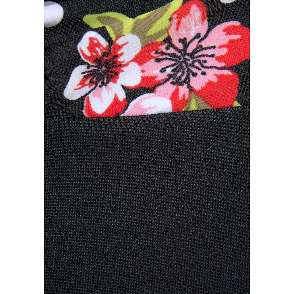 LASCANA Badeanzug, mit floralem Print