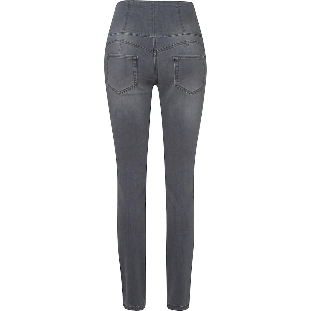 MAC High-waist-Jeans »Curvy«, Extra hoher formender Shaping-Bund