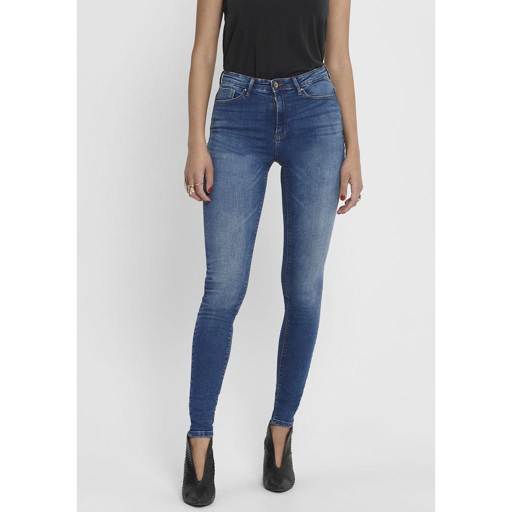 Only High-waist-Jeans »PAOLA«, 5-Pocket-Design