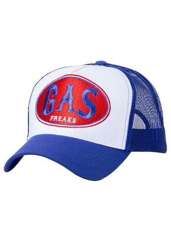 KingKerosin Trucker Cap »Gas Freaks«, in Colour-Blocking Optik kaufen