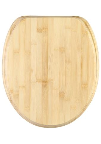 Sanilo WC-Sitz »Bambus«, mit Absenkautomatik kaufen