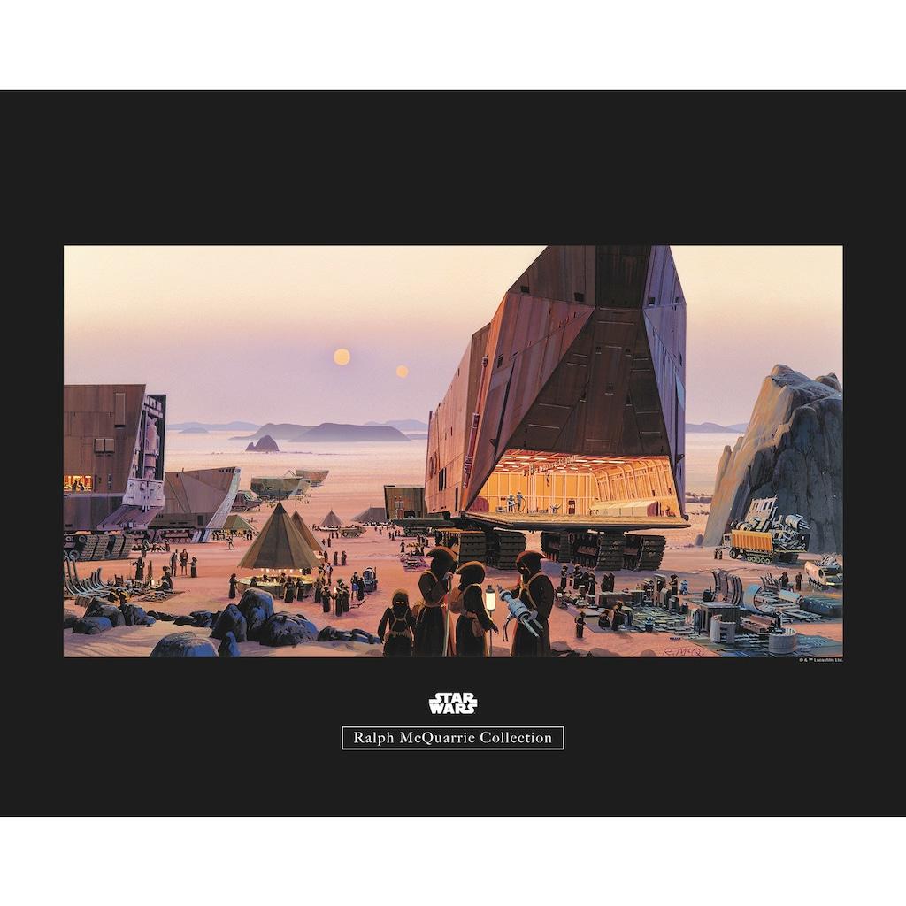 Komar Poster »Star Wars Classic RMQ Java Market«, Star Wars