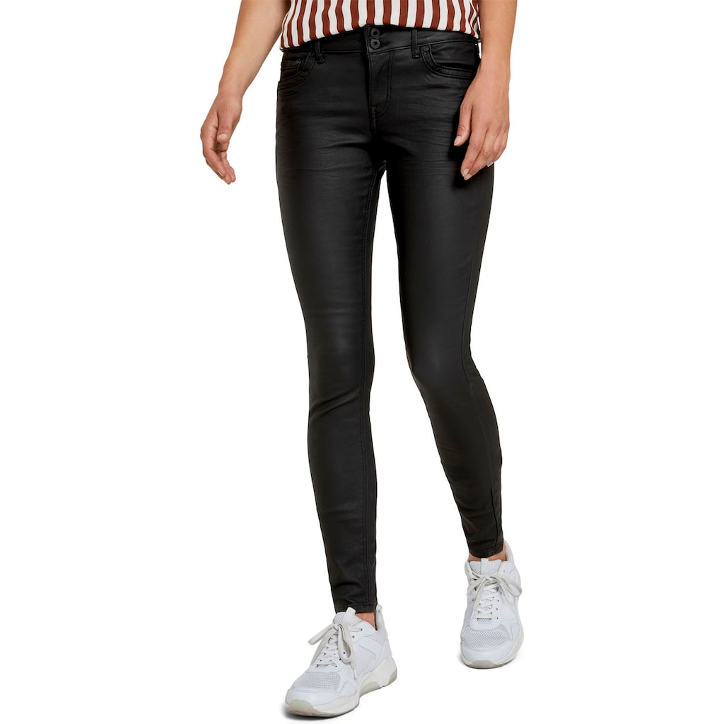 TOM TAILOR Denim Skinny-fit-Jeans, in cleaner Waschung