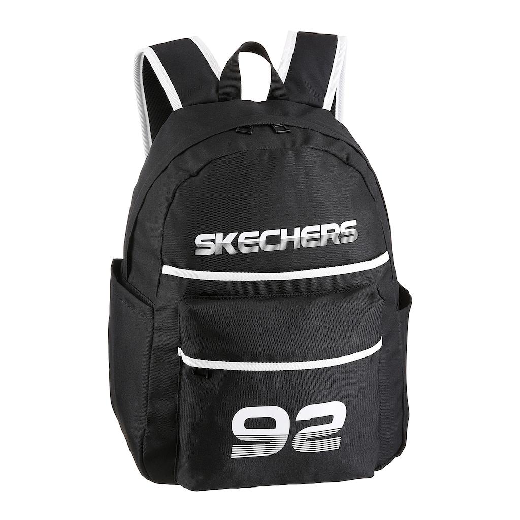 Skechers Cityrucksack, mit gepolstertem Rücken- und Tragegurten