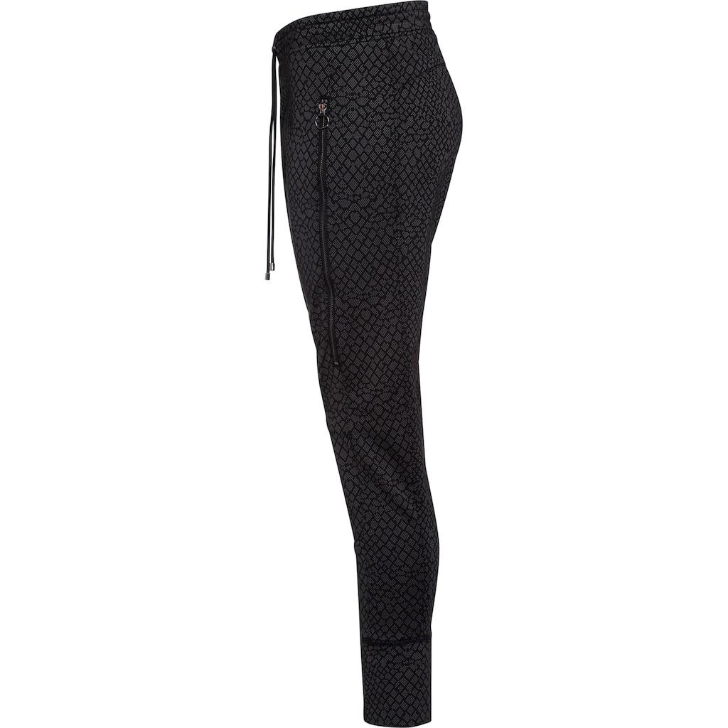 MAC Schlupfhose »Future Pants«, Eingearbeitete große Taschen unter den Reißverschlüssen
