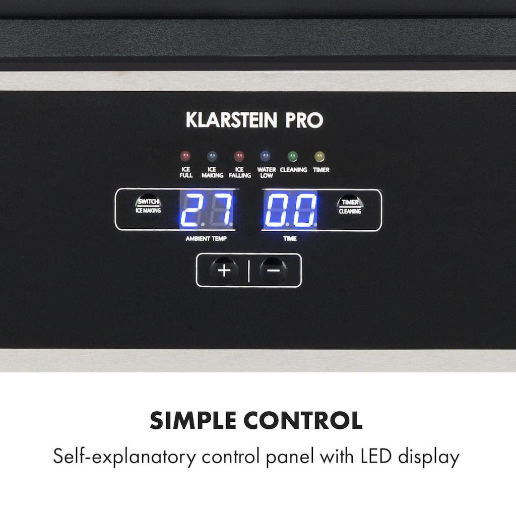Klarstein Eiswürfelbereiter 270W 15l 26kg/24h Edelstahl