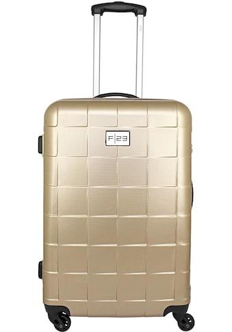 """F23™ Hartschalen - Trolley """"Wave 3.0, 68 cm, ricegold"""", 4 Rollen kaufen"""