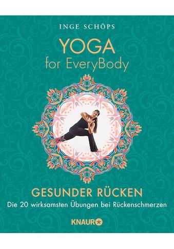 Buch »Yoga for EveryBody - Gesunder Rücken / Inge Schöps« kaufen