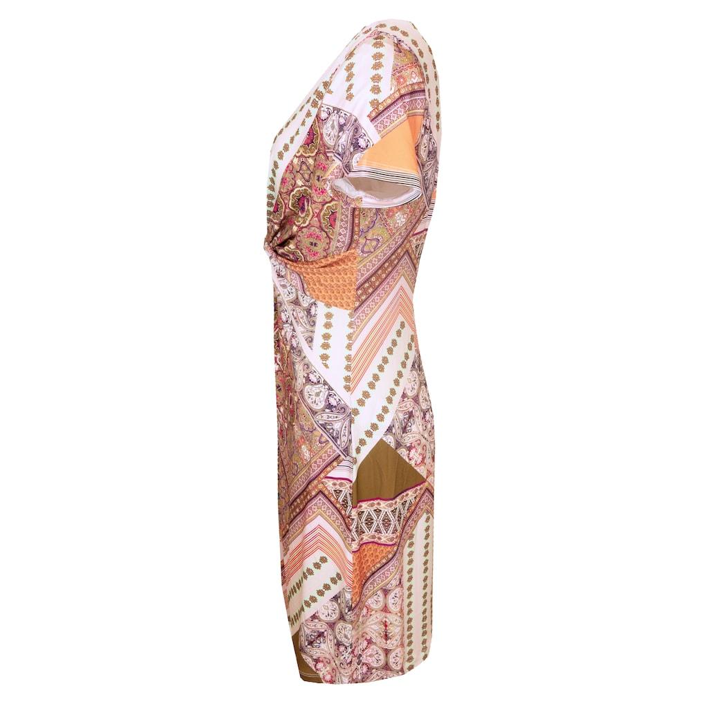 bianca Druckkleid »DANIELA«, mit raffinierter Wickeloptik und im coolen Print