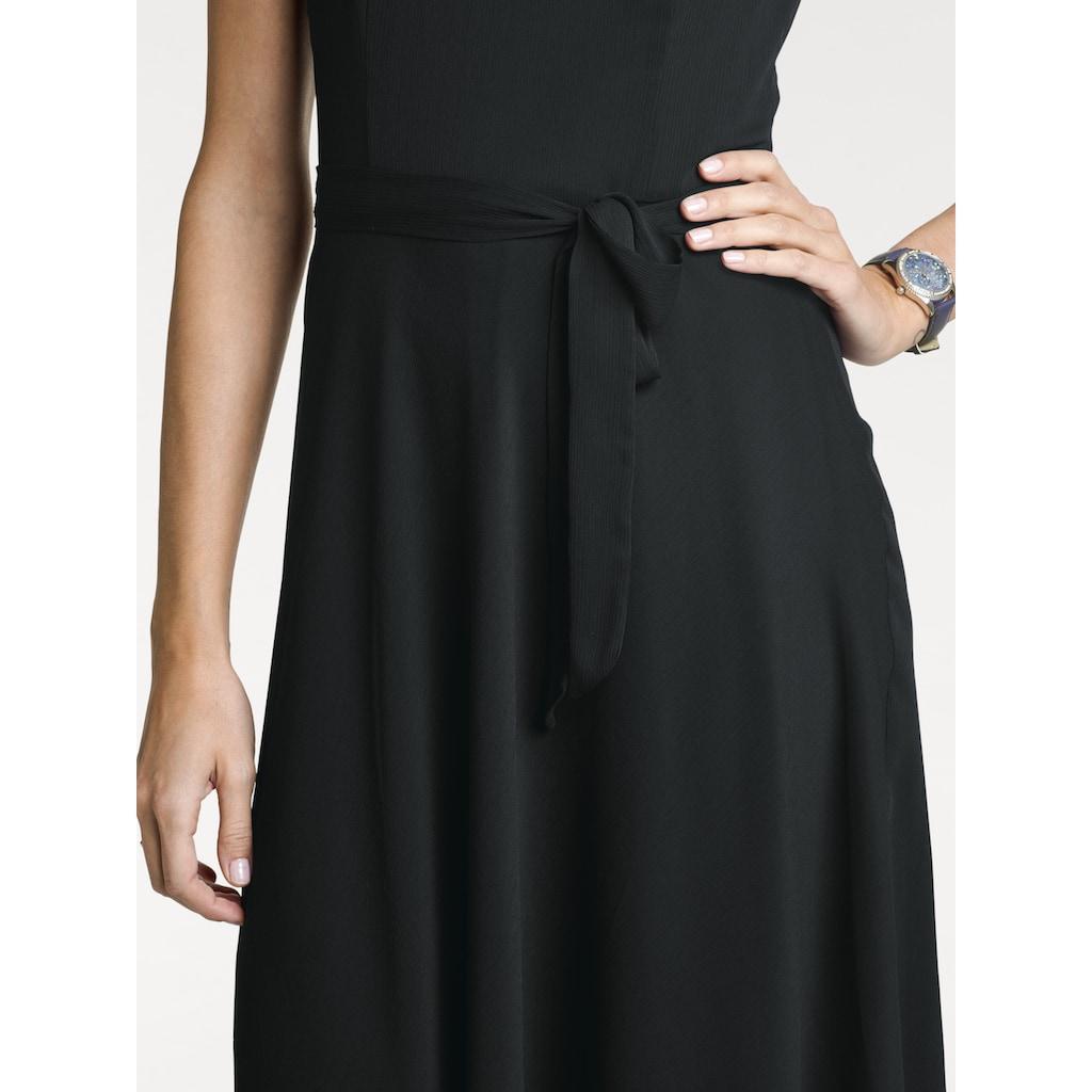 ASHLEY BROOKE by Heine A-Linien-Kleid, mit Chiffon