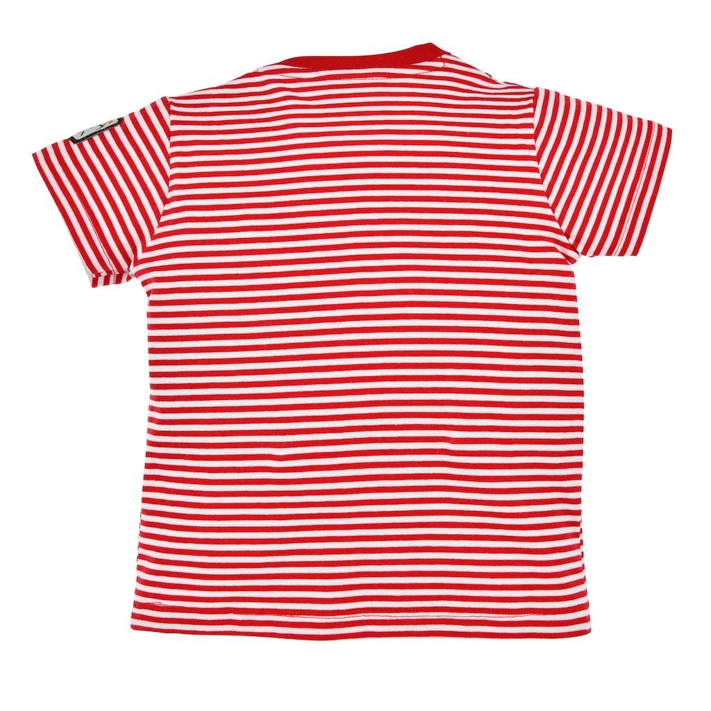 BONDI Trachtenshirt, in Lederhosenoptik