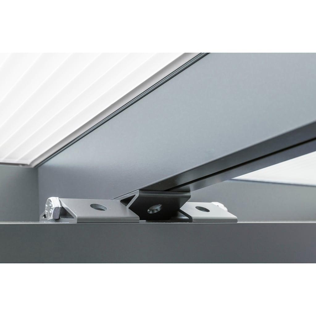 GUTTA Terrassendach »Premium«, BxT: 309x306 cm, Dach Acryl klar