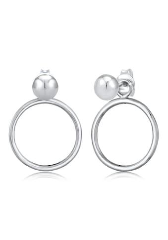 Elli Paar Ohrstecker »Ohrstecker Kreise Geo Wandelbar 925 Silber« kaufen