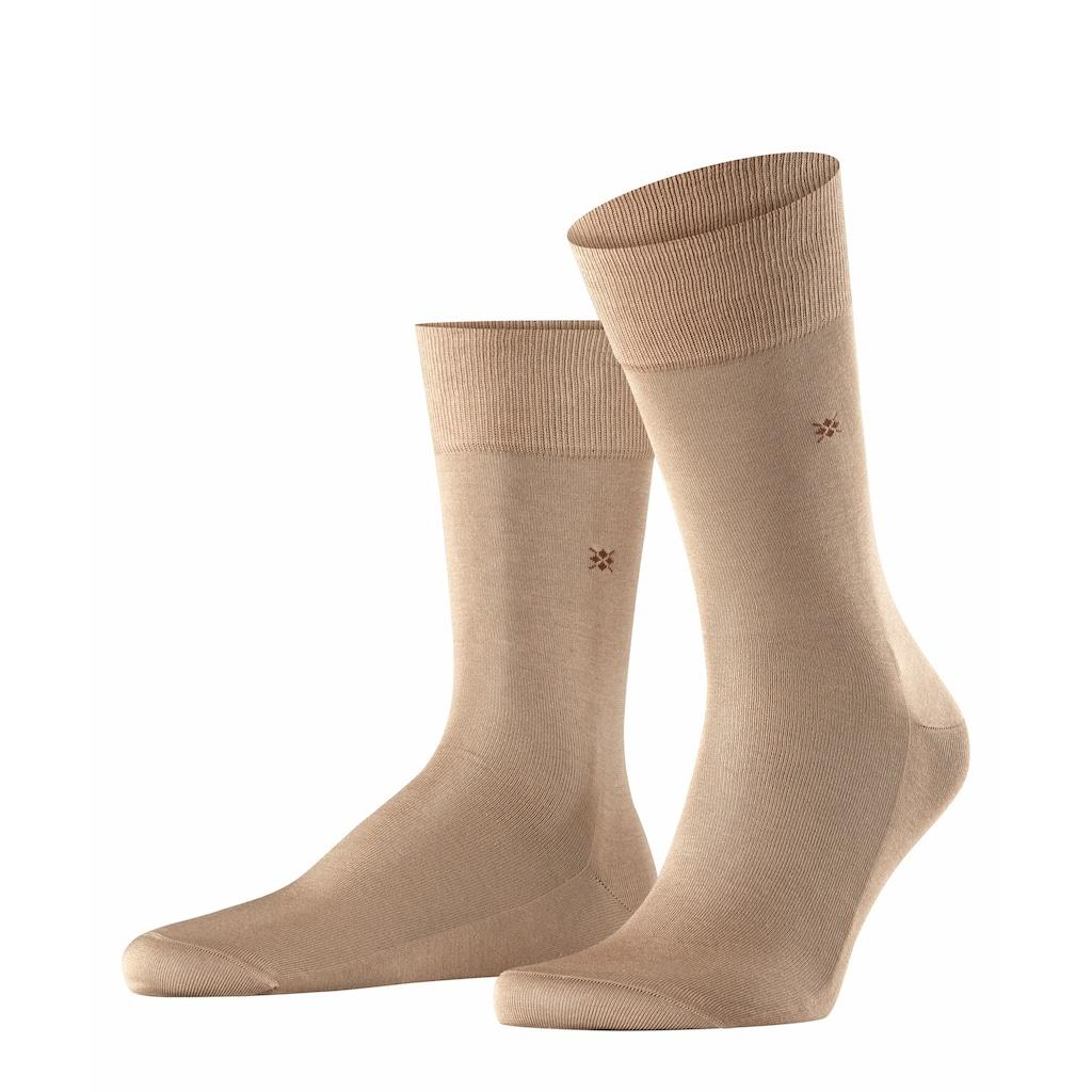Burlington Socken »Cardiff«, (1 Paar), aus Fil d'Ecosse Baumwolle