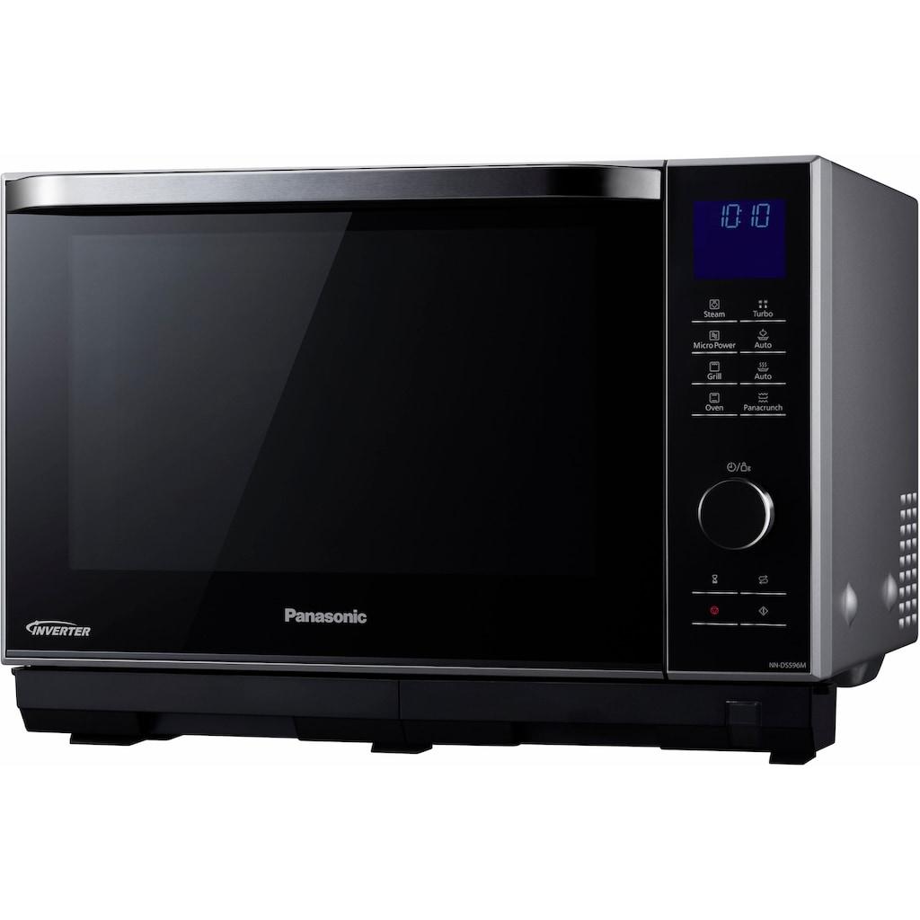 Panasonic Mikrowelle »NN-DS596MEPG«, Grill, 1000 W
