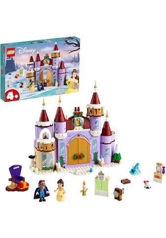 """LEGO® Konstruktionsspielsteine """"Belles winterliches Schloss (43180), LEGO® Disney Princess™"""", Kunststoff, (238 - tlg.) kaufen"""