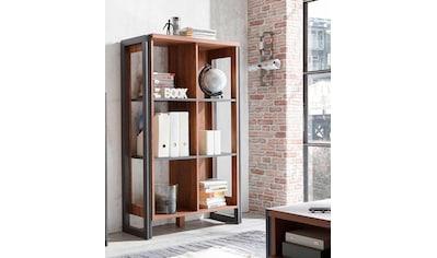 Home affaire Mehrzweckregal »Detroit«, Höhe 140 cm, im angesagten Industrial-Look kaufen