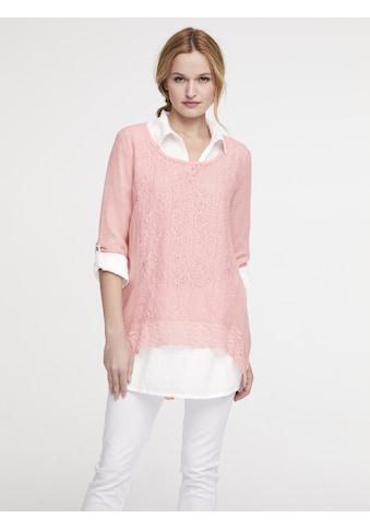 Spitzenshirt mit Bluse kaufen