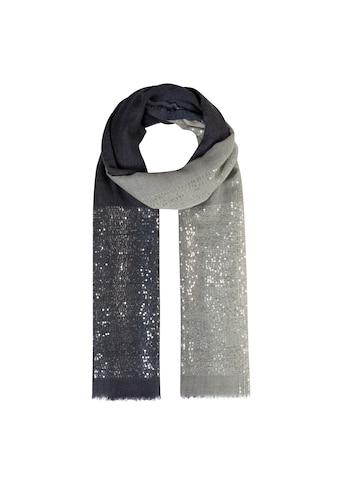 Codello Glamour-Schal mit Pailletten aus feiner Wolle kaufen