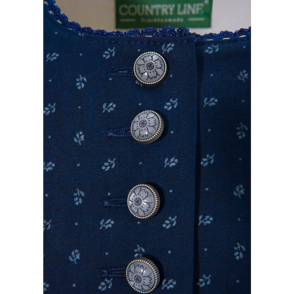 Country Line Dirndl, (2 tlg.), mit modernem Schürzenprint