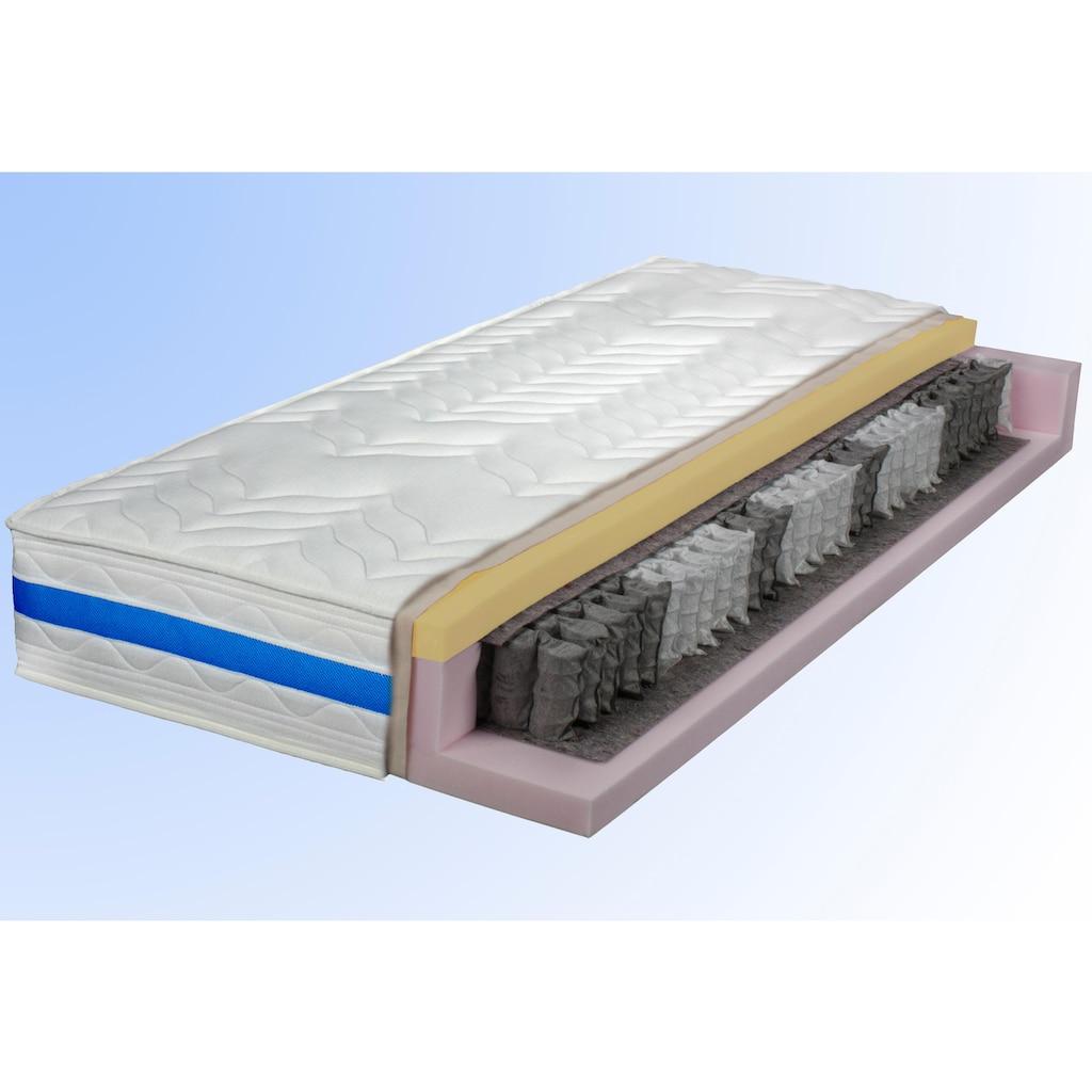 Breckle Taschenfederkernmatratze »TFK Duo«, 530 Federn, (1 St.), 2 Härten in 1 Matratze - die Matratze für Kunden mit Wunsch nach Flexibilität