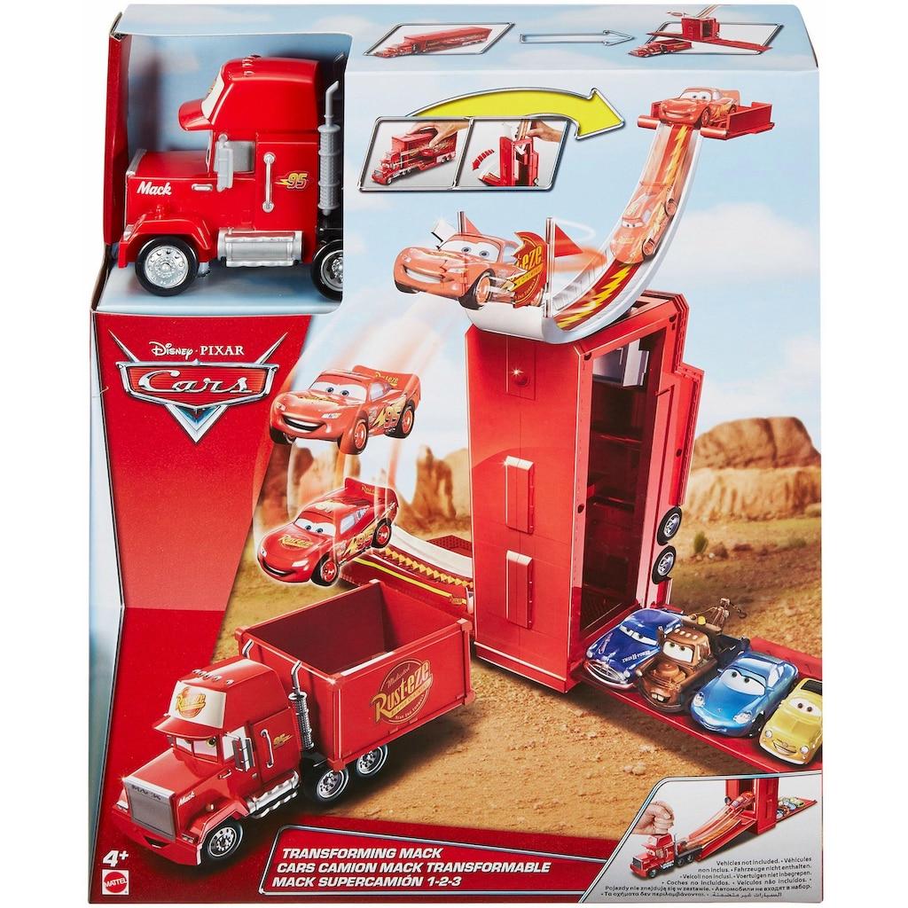Mattel® Spielzeug-LKW »Disney Cars 3-in-1 Megasprung Mack«, verwandelbar
