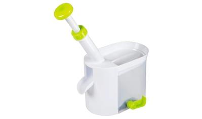 Xavax Entkerner für Kirschen und Oliven, Kunststoff, Weiß/Grün kaufen