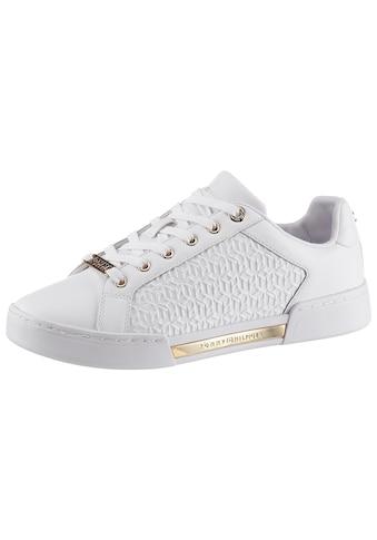 Tommy Hilfiger Sneaker »TH MONOGRAM ELEVATED SNEAKER«, mit Streifen in der Laufsohle kaufen