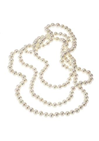 Zeeme Collier »Süßwasserzuchtperle weiß«, Perlcollier kaufen