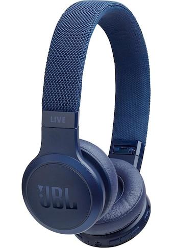 JBL On-Ear-Kopfhörer »LIVE 400 BT«, Bluetooth, Freisprechfunktion-Sprachsteuerung-Multi-Point-Verbindung-kompatibel mit Siri, Google Now kaufen