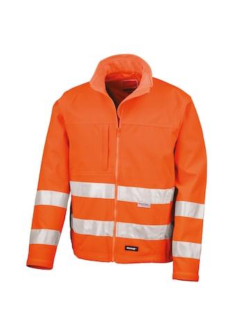 Result Softshelljacke »Core Herren Hi Vis Winter Softshell Jacke, Wasser und Wind abweisend« kaufen