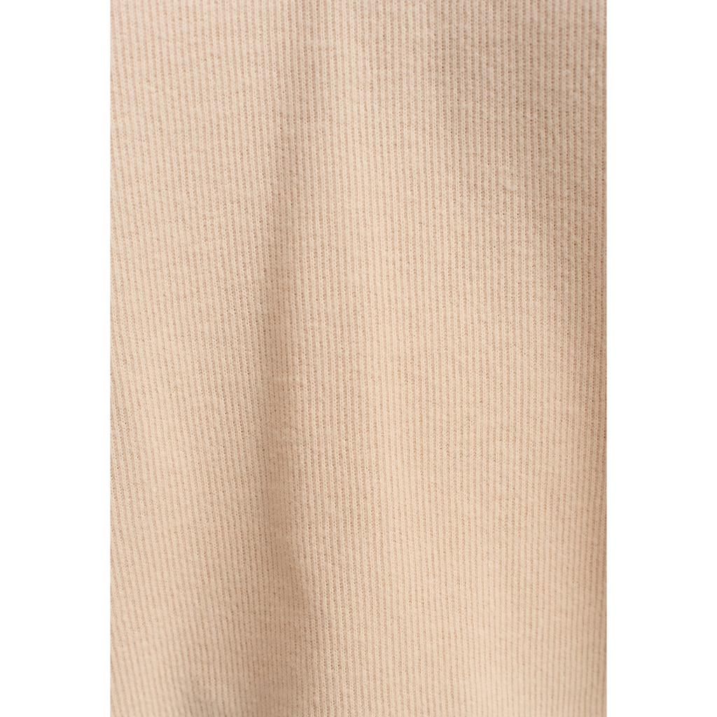 OXXO Kapuzenpullover, mit V-Ausschnitt