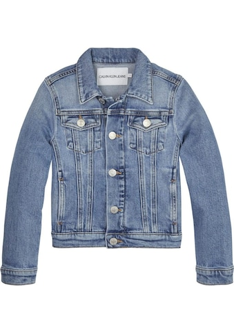 Calvin Klein Jeans Jeansjacke »GIRLS TRUCKER«, mit hochwertigen Logostickereien kaufen