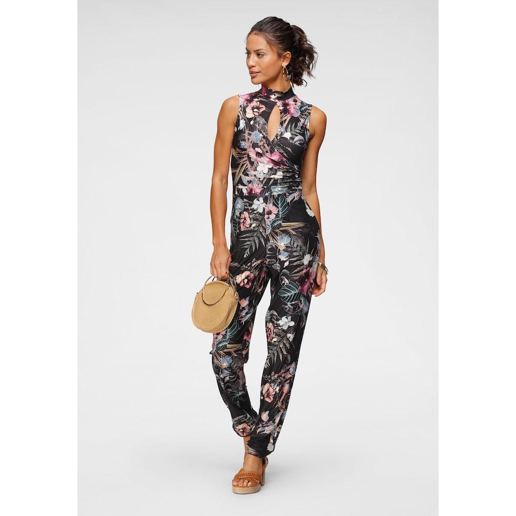 Melrose Overall, mit femininem Cut-Out und modischem Blumen-Print