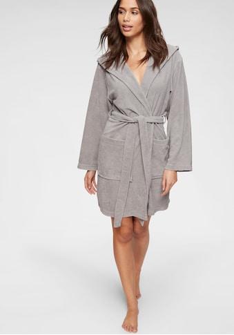 my home Damenbademantel »Sina«, in modernen Unifarben kaufen