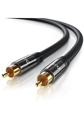 Primewire Subwoofer-Cinch Audio-Kabel mehrfach geschirmt »1x Cinch zu 1x Cinch /... kaufen