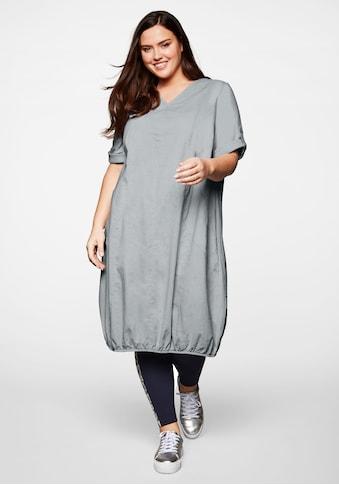 Sheego Sommerkleid, im Leinenmix kaufen