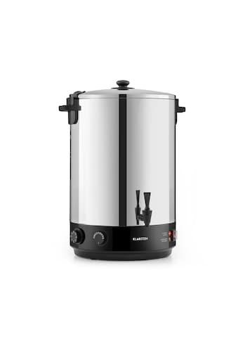 Klarstein KonfiStar 40 Einkochautomat Getränkespender 40L 110°C »Food preser 40L« kaufen