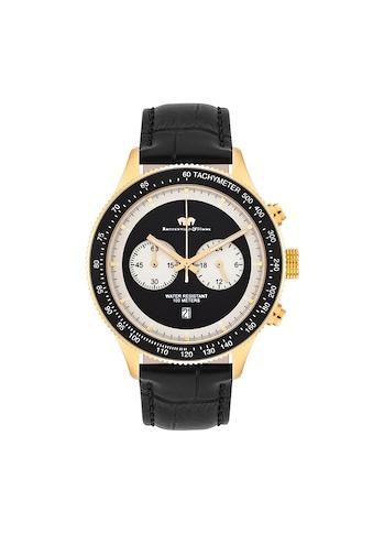Rhodenwald & Söhne Chronograph »RWS025«, (1 tlg.), Armband aus Echtleder kaufen