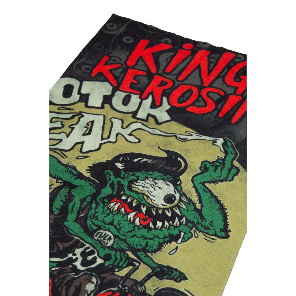 KingKerosin Multifunktionstuch »Loud & Fast«, aus Coolmax mit Monster Print