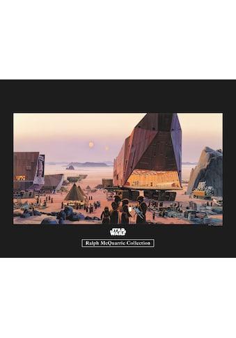 Komar Poster »Star Wars Classic RMQ Java Market«, Star Wars kaufen
