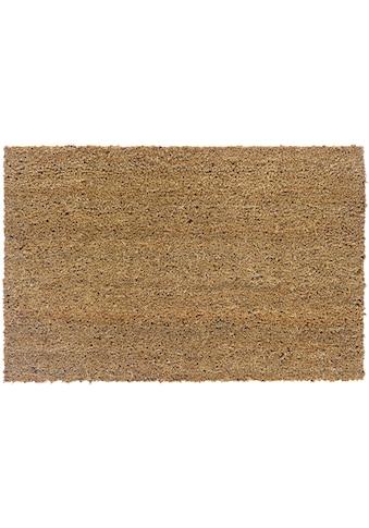 ASTRA Fußmatte »Kokosvelours 101«, rechteckig, 16 mm Höhe, Fussabstreifer, Fussabtreter, Schmutzfangläufer, Schmutzfangmatte, Schmutzfangteppich, Schmutzmatte, Türmatte, Türvorleger, Kokosmatte, In -und Outdoor geeignet kaufen