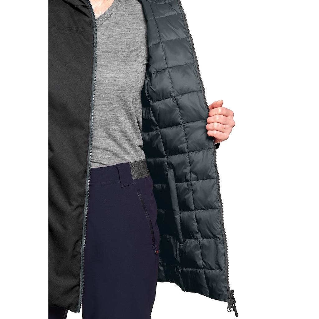 Maier Sports Funktionsjacke »Tiana«, Kuschelig warmer Wendemantel für Outdoor und Reise