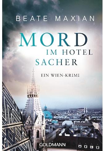 Buch »Mord im Hotel Sacher / Beate Maxian« kaufen