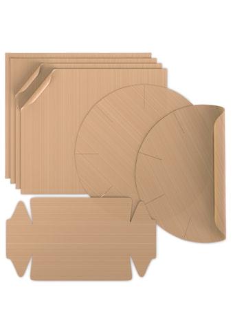 Arendo Backmatte »Backpapier 4x eckig, 2x Springform, 1x Kastenform«, im 7er Set kaufen