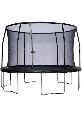 50NRTH Gartentrampolin »Sportspower«, Ø 427 cm, mit Sicherheitsnetz, schwarz kaufen