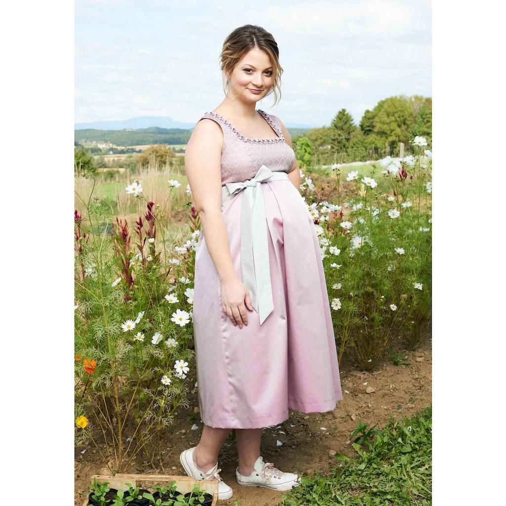 Love Nature Trachtenkleid, (2 tlg.), Umstandstrachtenkleid mit Stoffgürtel - Made in Austria